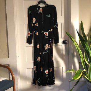Reformation Long Sleeved Floral Dress
